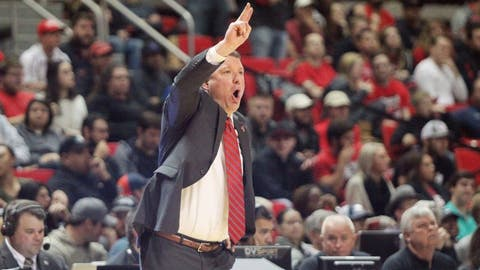 Celebration of the Week: Texas Tech following their win over oWest Virginia