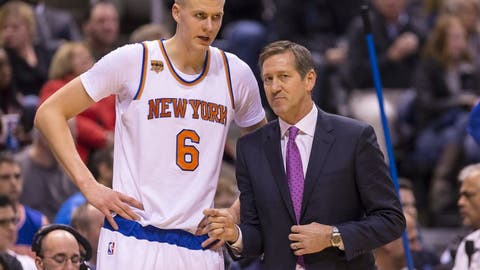 Jeff Hornacek, head coach, New York Knicks