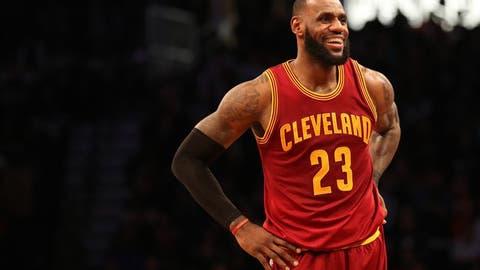 2. LeBron James, Cleveland Cavaliers ($54 million)