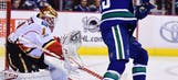 Calgary Flames Outplay Vancouver Canucks, But Can't Solve Ryan Miller