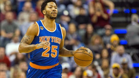 Derrick Rose, New York Knicks