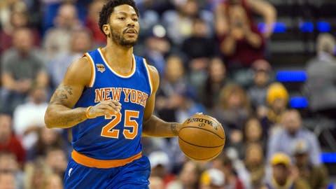 23. Derrick Rose, New York Knicks ($14 million)
