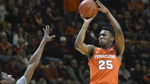 Syracuse Orange (11-8, 3-3 ACC)
