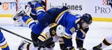 St. Louis Blues Comedy Of Errors Against Boston