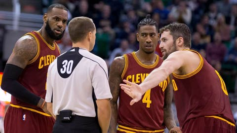 The Cavs have sacrificed young assets