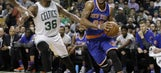 New York Knicks Take Down The Boston Celtics On The Road