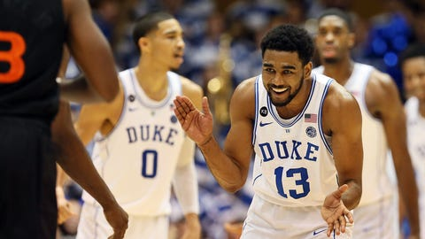 """Duke is not """"back"""""""
