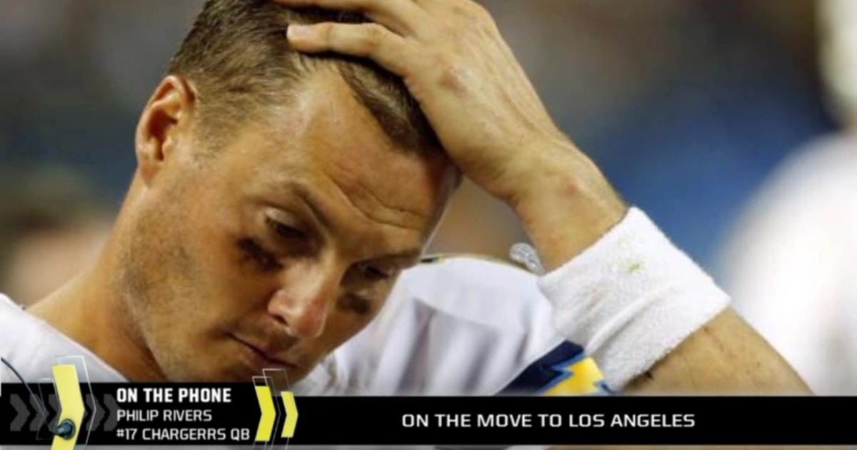 Philip Rivers Gets Emotional About Chargers Move To La Fox Sports