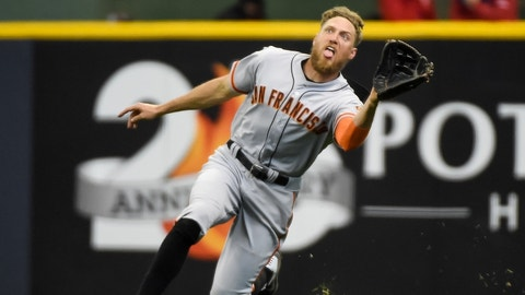 Hunter Pence - Giants