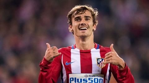 Antoine Griezmann, 26, Atletico Madrid