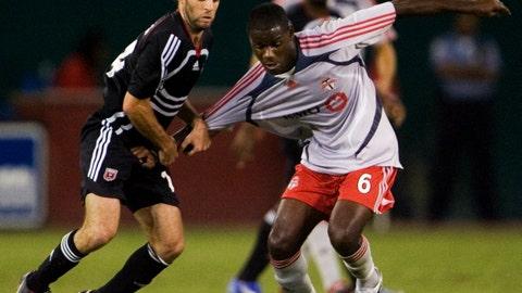 2007: Maurice Edu, Toronto FC