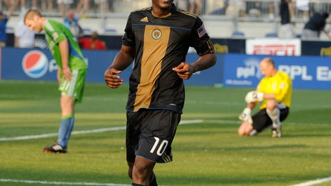 2010: Danny Mwanga, Philadelphia Union