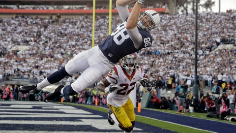 Penn State's Mike Gesicki skies for touchdown
