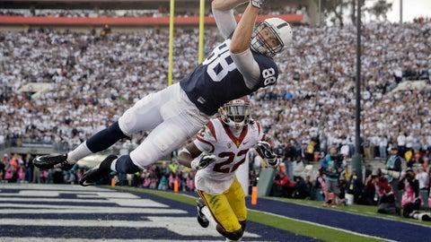Penn State's Mike Gesicki skies for touchdown