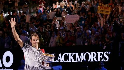 2017 Australian Open (d. Nadal in 5)