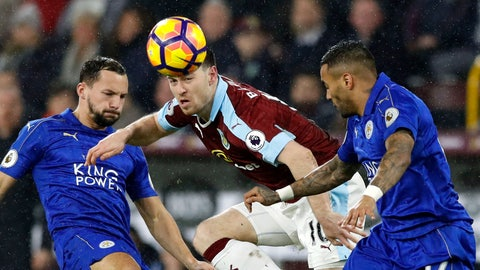 Leicester can't get away from the relegation race
