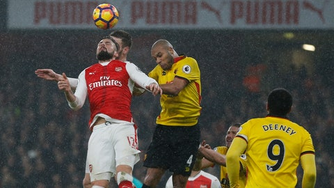 Arsenal lose ground