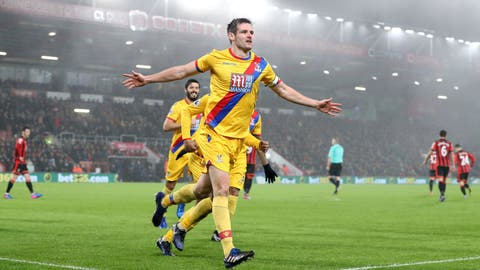 No luck for Crystal Palace