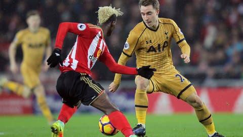 Frustration for Tottenham