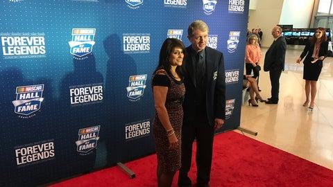 Bill Elliott and wife, Cindy