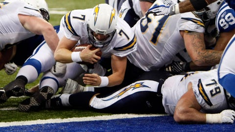 Jan. 13, 2008: Chargers win a playoff thriller over the Colts