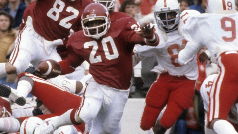 Billy Sims   1975-79   4,118 yards