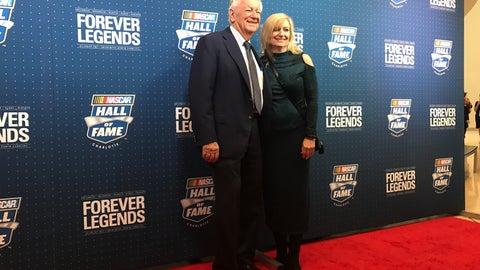 Bobby Allison and wife, Bonnie
