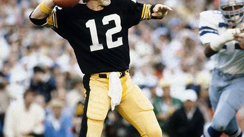 Super Bowl X: Terry Bradshaw vs. Roger Staubach