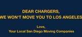 San Diego moving companies pledge they won't help the Chargers move to L.A.