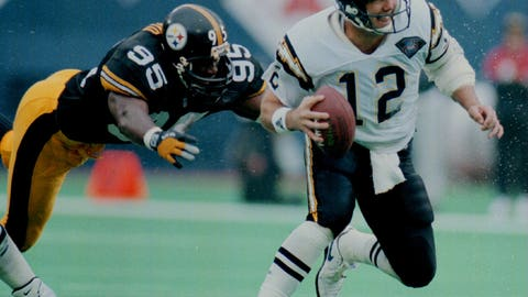 1994: Chargers beat the Steelers in the AFC Championship to advance to the team's only Super Bowl