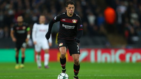 Bayer Leverkusen — Chicharito could remember the stage