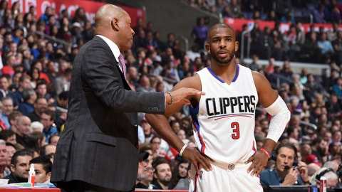 Doc Rivers, head coach, Los Angeles Clippers