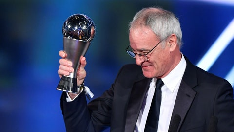 Best FIFA Men's Coach: Claudio Ranieri
