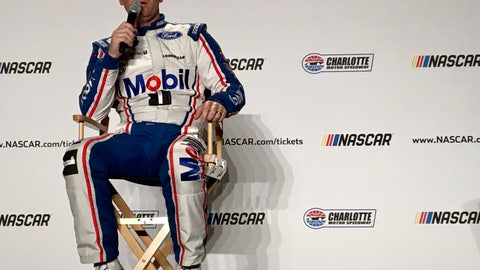 Clint Bowyer works for Santa Claus