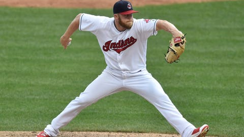 Cody Allen home white jersey - June 24