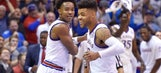 Two of a Kind: Kansas thriving thanks to guards Graham and Mason