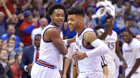Baylor and Kansas square off in the game of the weekend