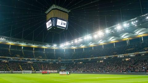 Eintracht Frankfurt - €32 million