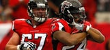 Falcons lineman's wife went into labor before Seahawks game, stayed in stands