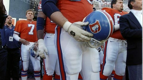 Gary Zimmerman -- Denver Broncos, Super Bowl XXXII