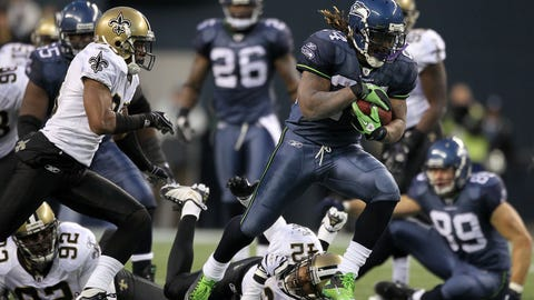 New Orleans Saints -- Beast Mode (2010 wild card at Seattle)