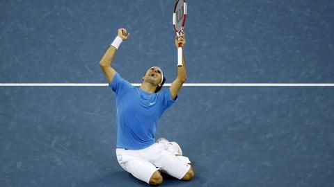 2006 U.S. Open (d. Roddick in 4)