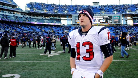 Houston Texans -- 2011 AFC divisional playoff at Ravens