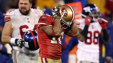 2011 NFC Championship game: Giants 20, 49ers 17 (OT)