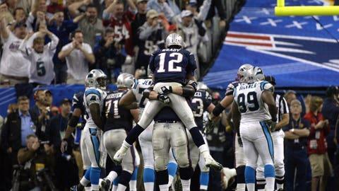 Carolina Panthers -- Super Bowl XXXIII vs. Patriots, 2003