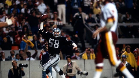Washington Redskins -- Super Bowl XVIII vs. Raiders, 1983