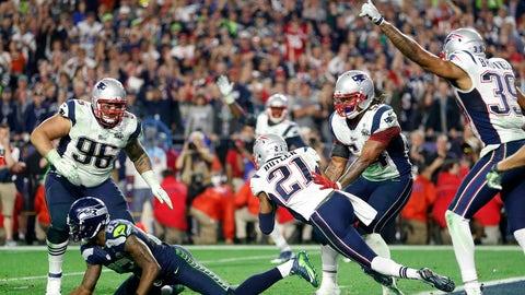 Seattle Seahawks -- The interception (Super Bowl XLIX vs. Patriots, 2014)