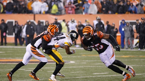 Cincinnati Bengals - Vontaze and Pacman (2015 AFC wild card at Steelers)