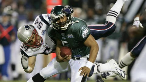 Philadelphia Eagles -- The Dono-vomit (Super Bowl XXXIX vs. Patriots, 2004)
