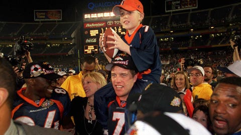 John and Jack Elway (Super Bowl XXXII)